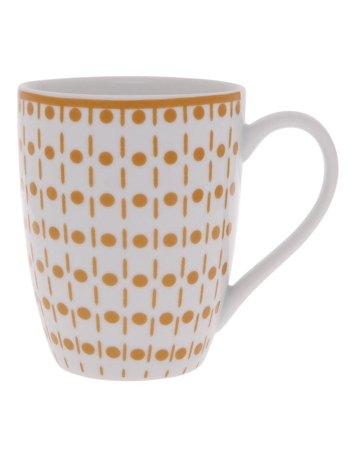 Terra Firma Porcelain Gold Barrel Mug image 1