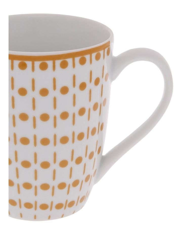 Terra Firma Porcelain Gold Barrel Mug image 2
