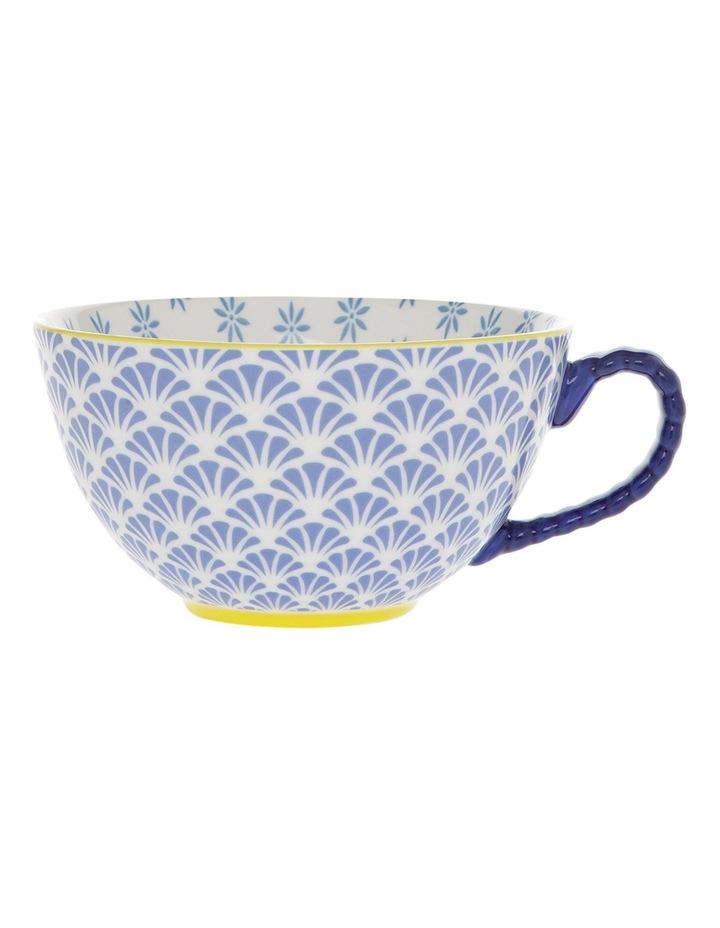 Multi Pedestal Mug Blue Fan image 1