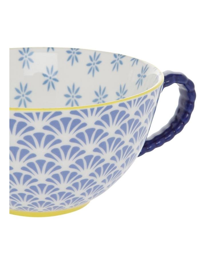 Multi Pedestal Mug Blue Fan image 2