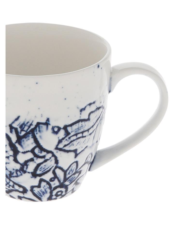 Oriental Flower Porcelain Mug image 4