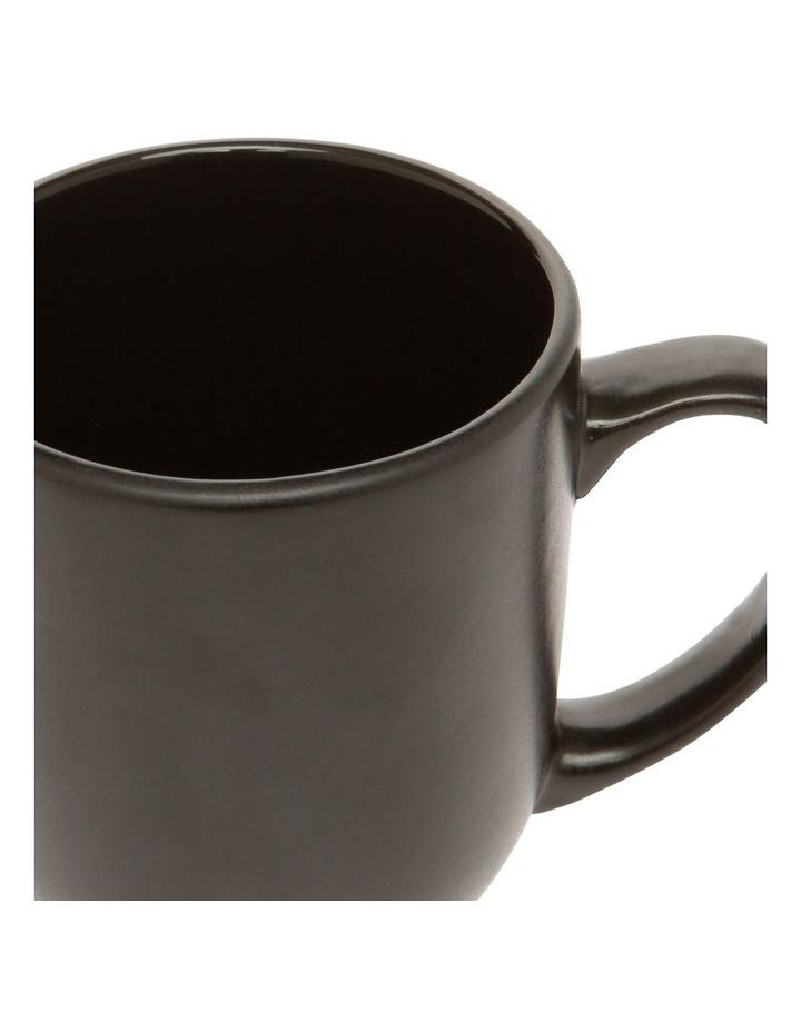 Western Stoneware Mug Black image 2