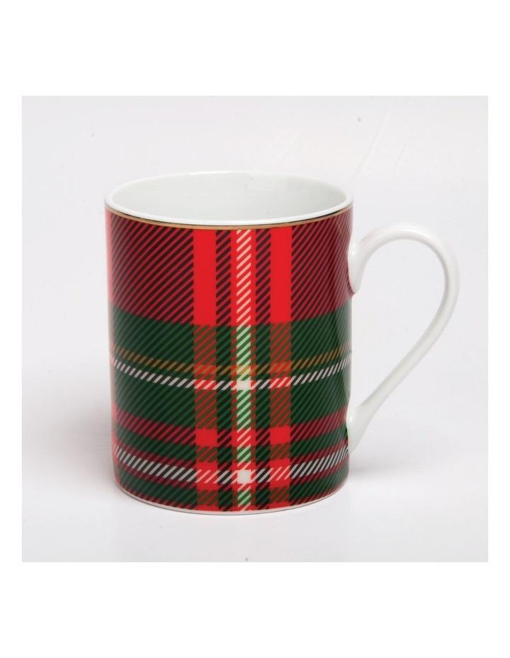Festive Holly Mug Tartan image 1
