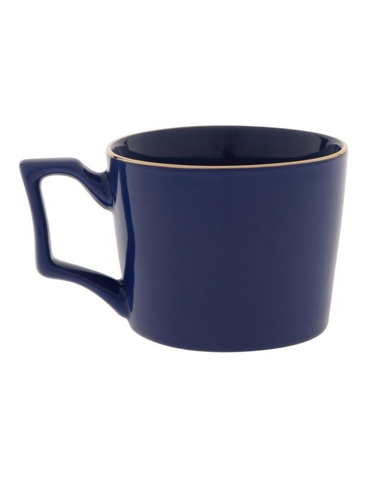 Oriental Dark Blue Mug image 1
