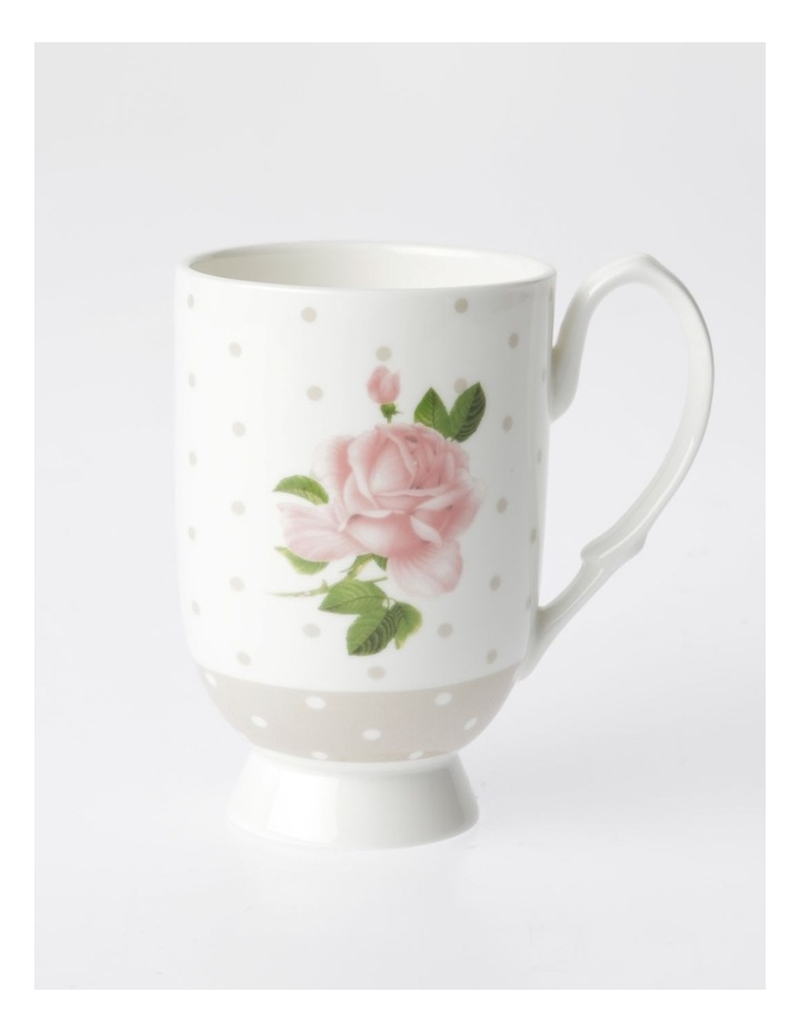Heritage Summer House Mug Design 2 (Pink/Grey) image 1
