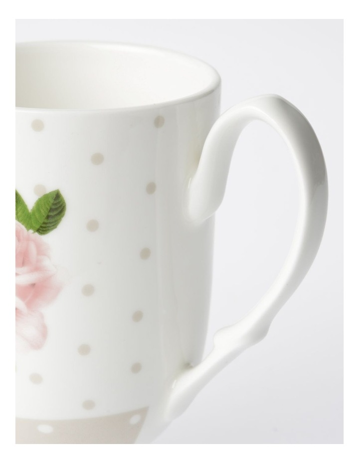 Heritage Summer House Mug Design 2 (Pink/Grey) image 2