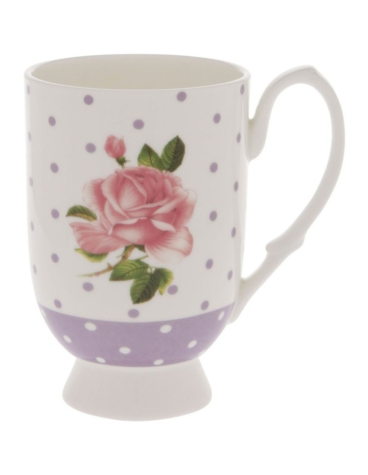 Summer House Mug in Mauve with Floral Detail image 1
