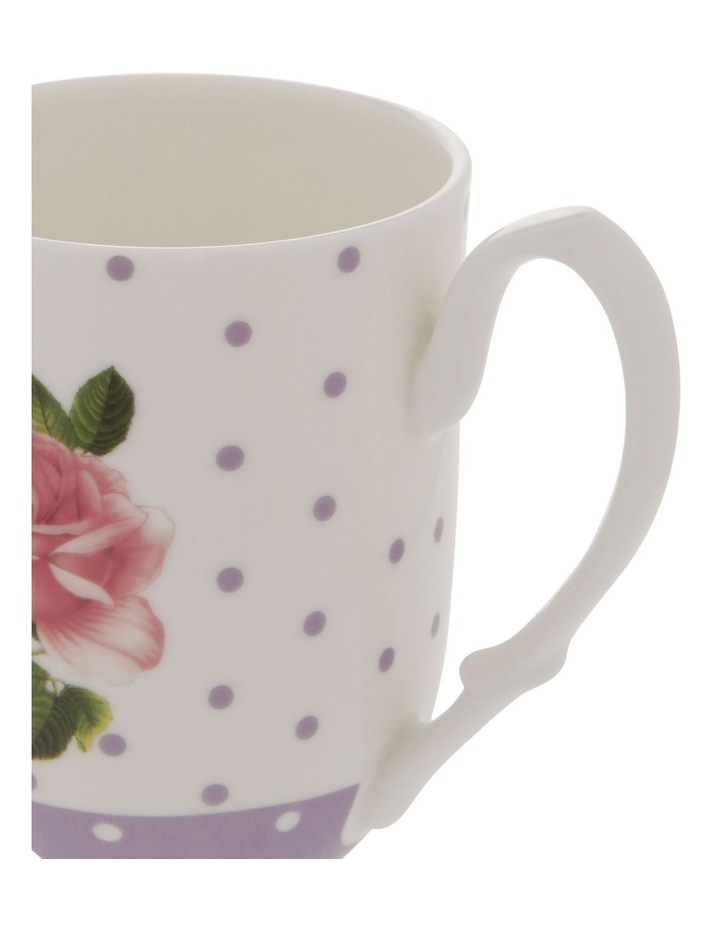 Summer House Mug in Mauve with Floral Detail image 3