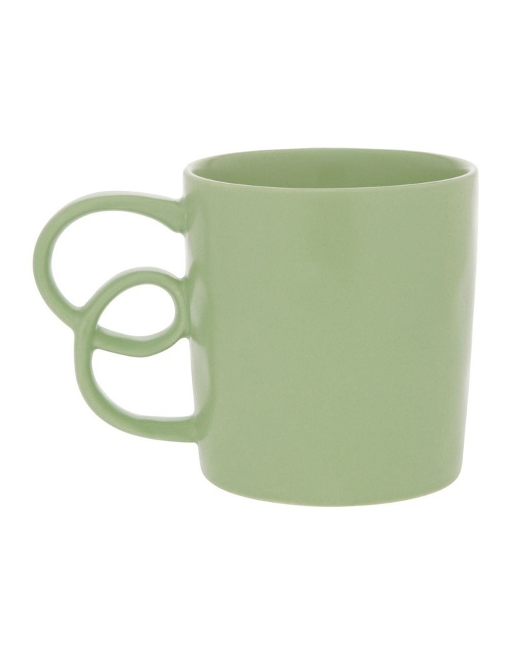 Butterfly Handle Mug in Sage image 1