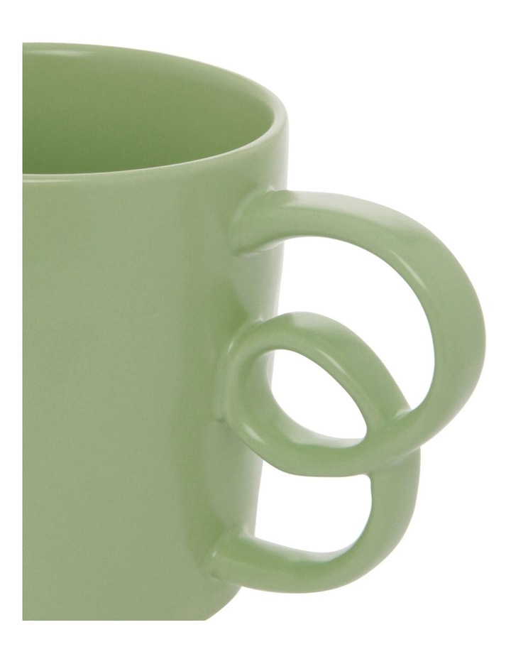 Butterfly Handle Mug in Sage image 2