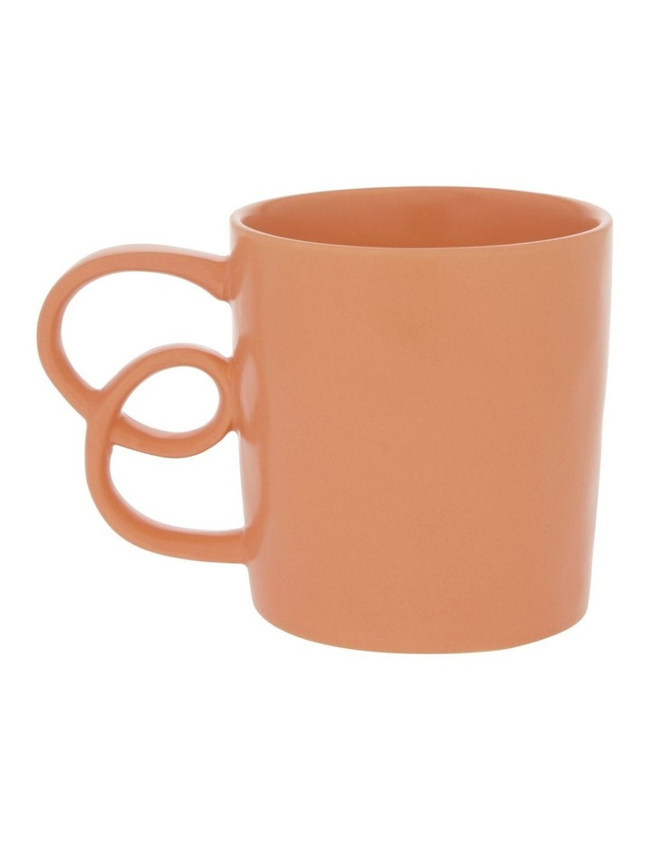 Butterfly Handle Mug in Apricot image 1