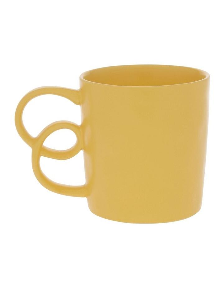 Butterfly Handle Mug in Mustard image 1