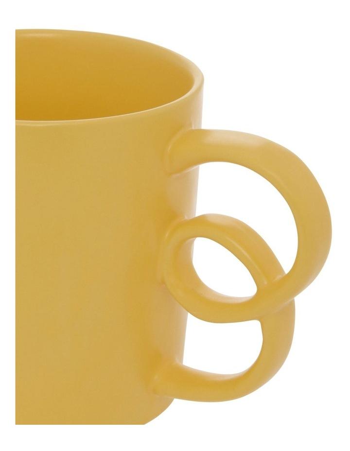 Butterfly Handle Mug in Mustard image 2