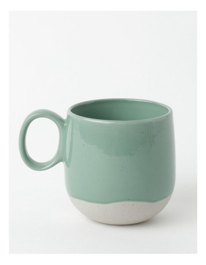 Drip Mug in Ocean image 1