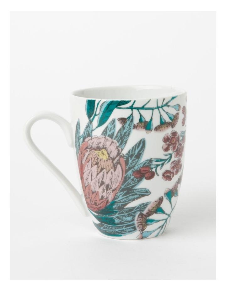 Heritage Australian Floral Mug Large image 1
