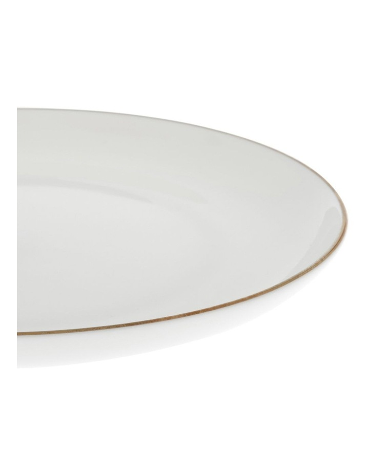 Largo Gold Rimmed Coupe Dinner Plate 25.5cm image 2