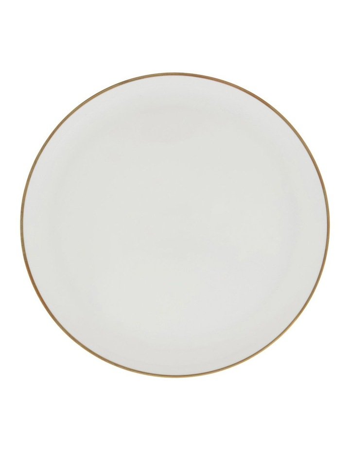 Largo Gold Rimmed Coupe Side Plate 20cm image 1