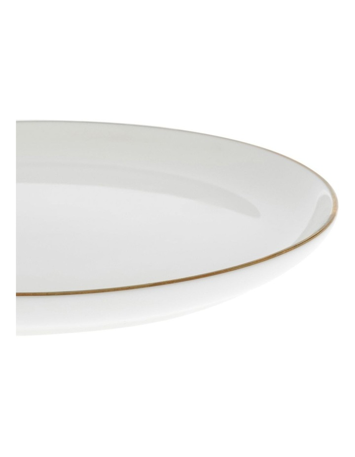 Largo Gold Rimmed Coupe Side Plate 20cm image 2