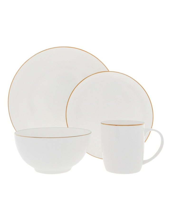 Largo Gold Rimmed Coupe Side Plate 20cm image 3
