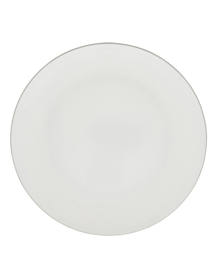 Largo Silver Rimmed Coupe Side Plate  20cm image 1