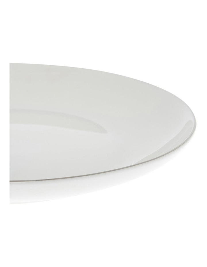 Largo Silver Rimmed Coupe Side Plate 20cm image 2