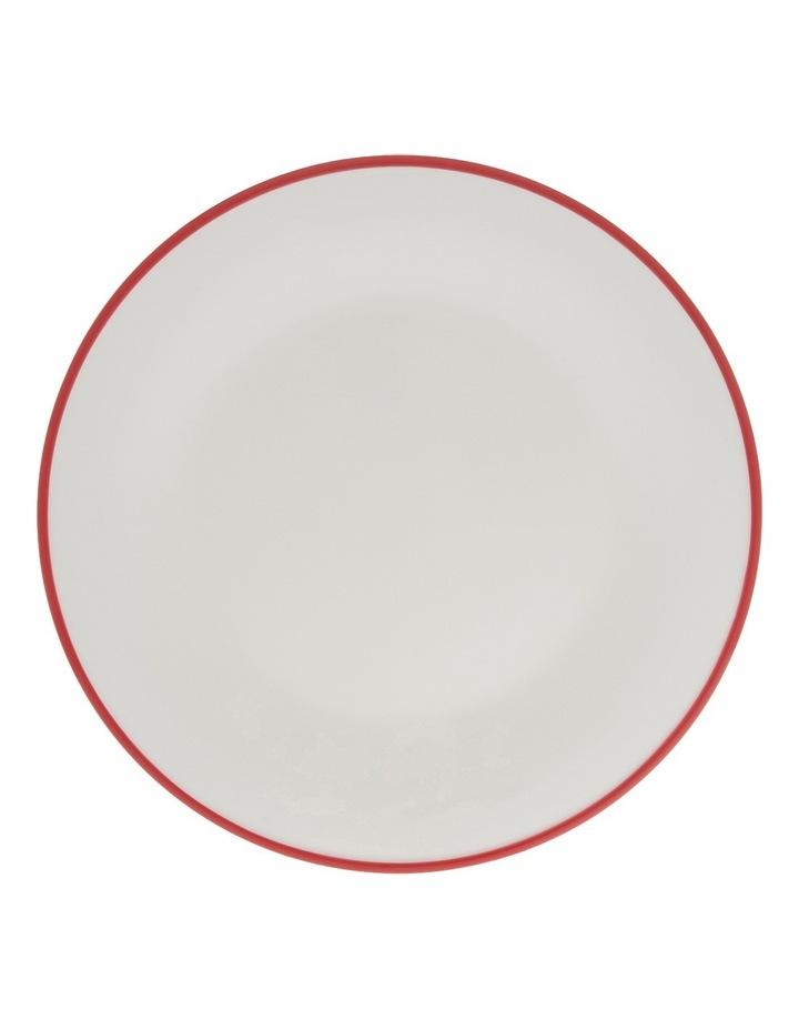 Garnet Rim 28cm Dinner Plate image 1