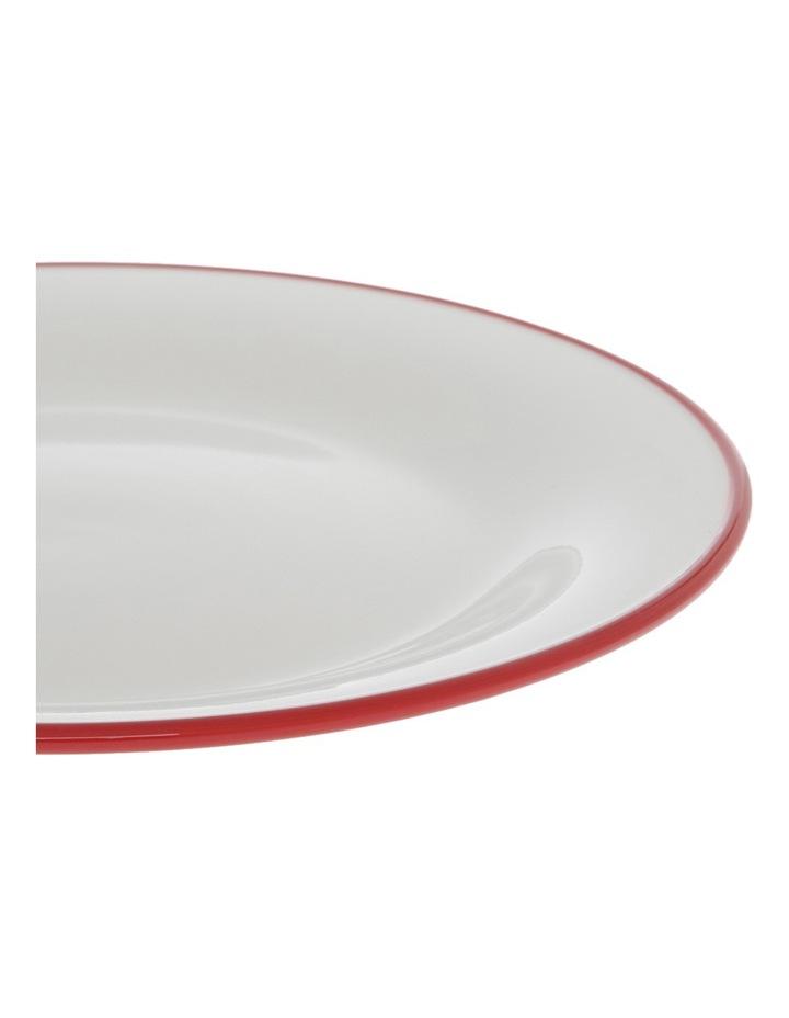 Garnet Rim 28cm Dinner Plate image 2