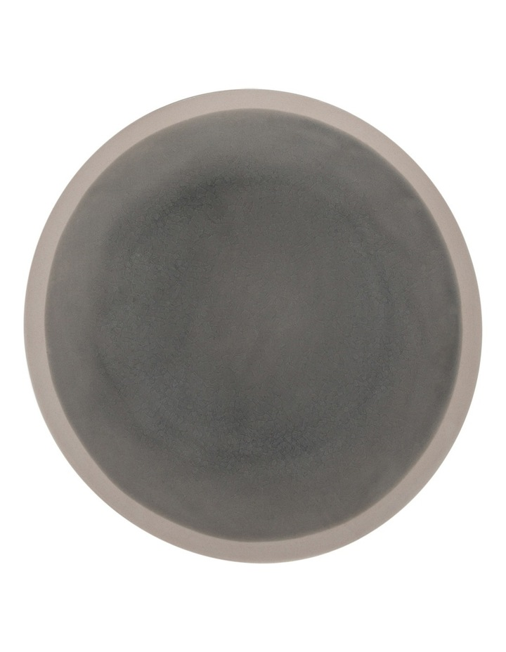 Riverstone Crackle  Grey Dinner Plate image 1