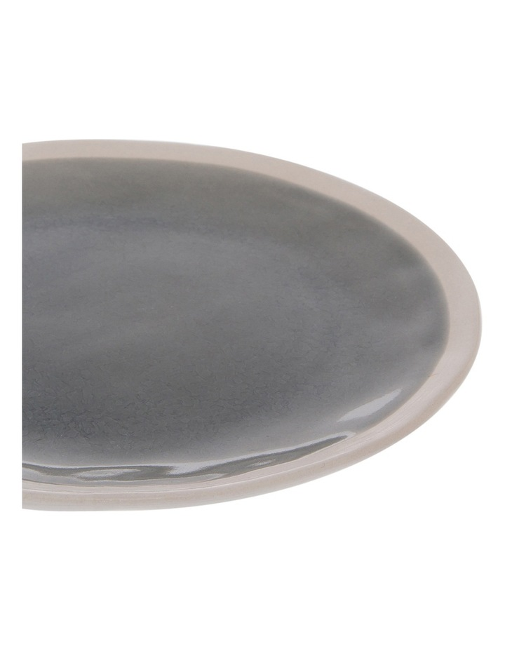 Riverstone Crackle  Grey Dinner Plate image 2