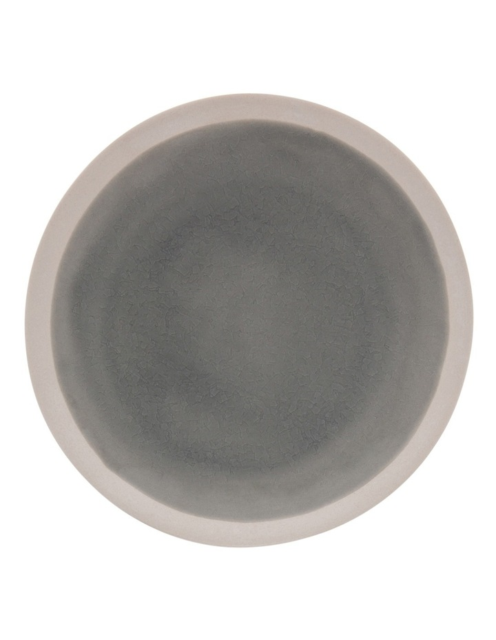 Riverstone Crackle 21.5cm Grey Side Plate image 1