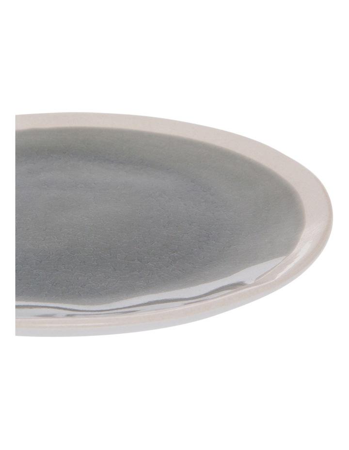 Riverstone Crackle 21.5cm Grey Side Plate image 2