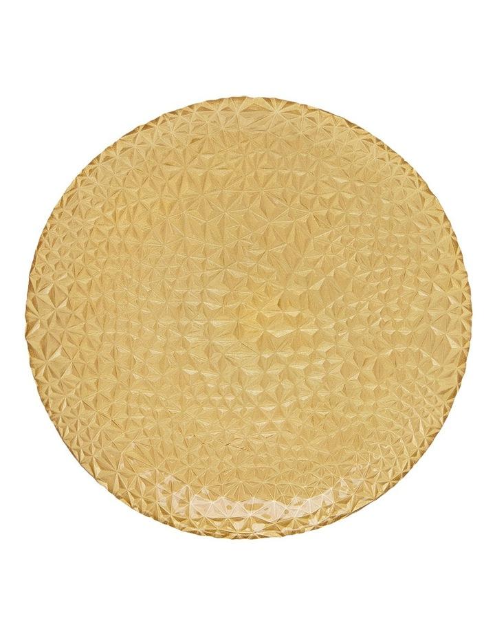 Geo Metallic Platter 33cm Gold image 1