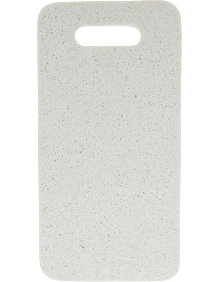 Rectangle Terrazzo Board with Handle Detail 30cm image 1