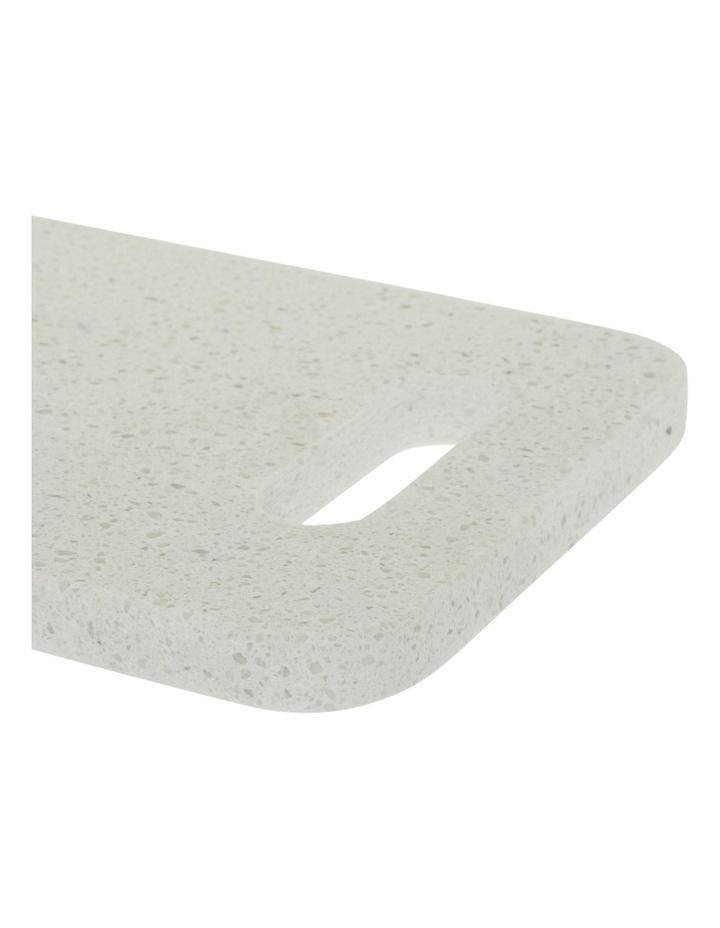 Rectangle Terrazzo Board with Handle Detail 30cm image 2