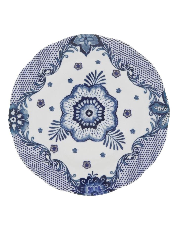 Blue Flower Side Plate 20.5cm image 1