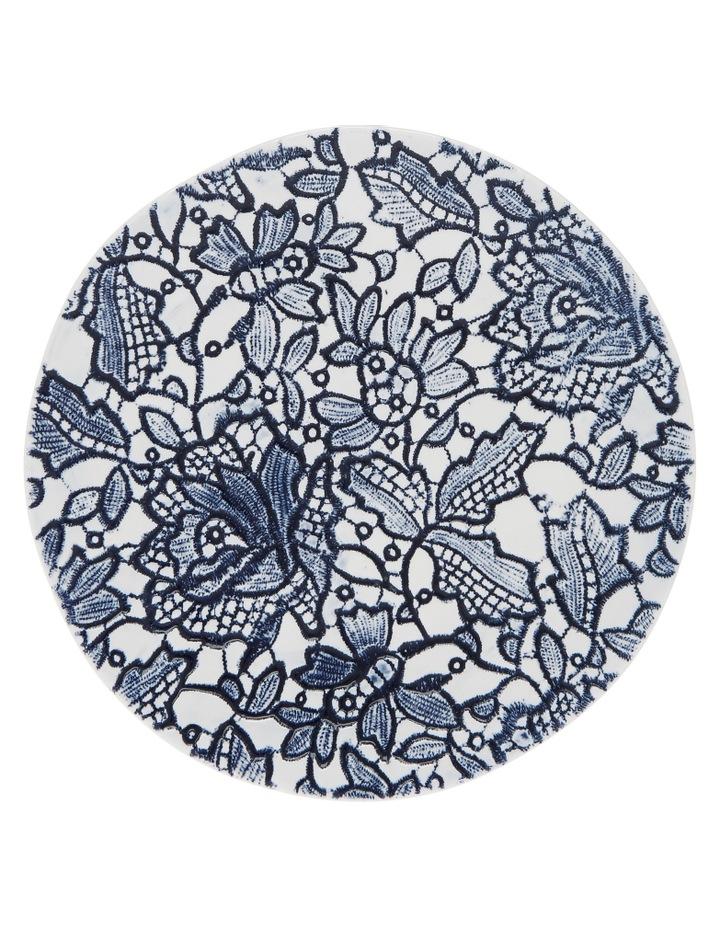 Oriental Flower Porcelain Side Plate image 1