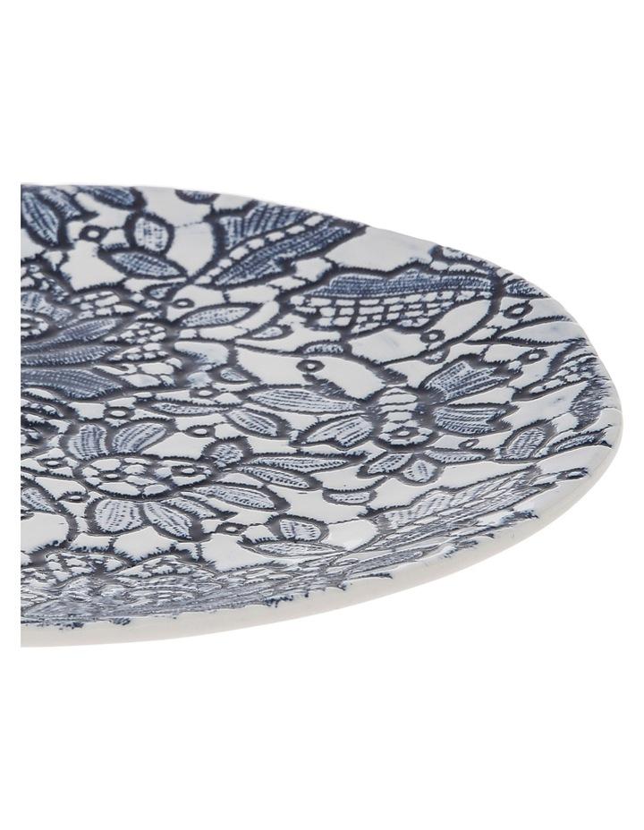 Oriental Flower Porcelain Side Plate image 2