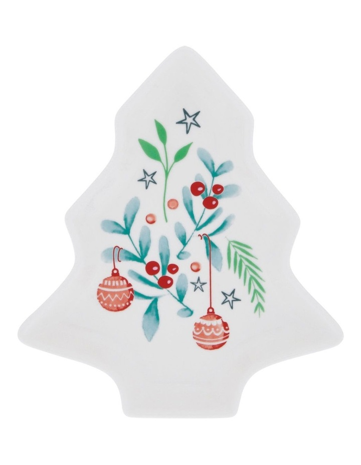 Merry & Bright Christmas Plate image 1
