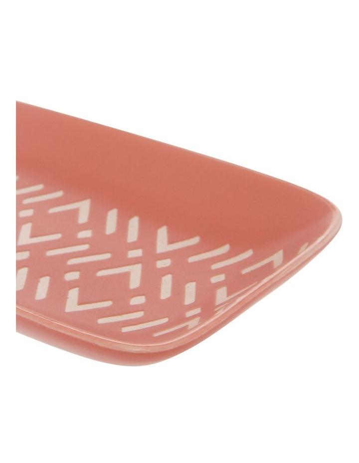 Le Tigre Rectangular Plate Geometric image 2
