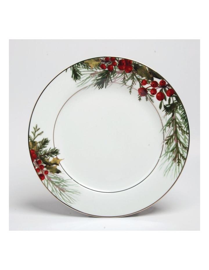 Festive Holly Dinner Plate image 1