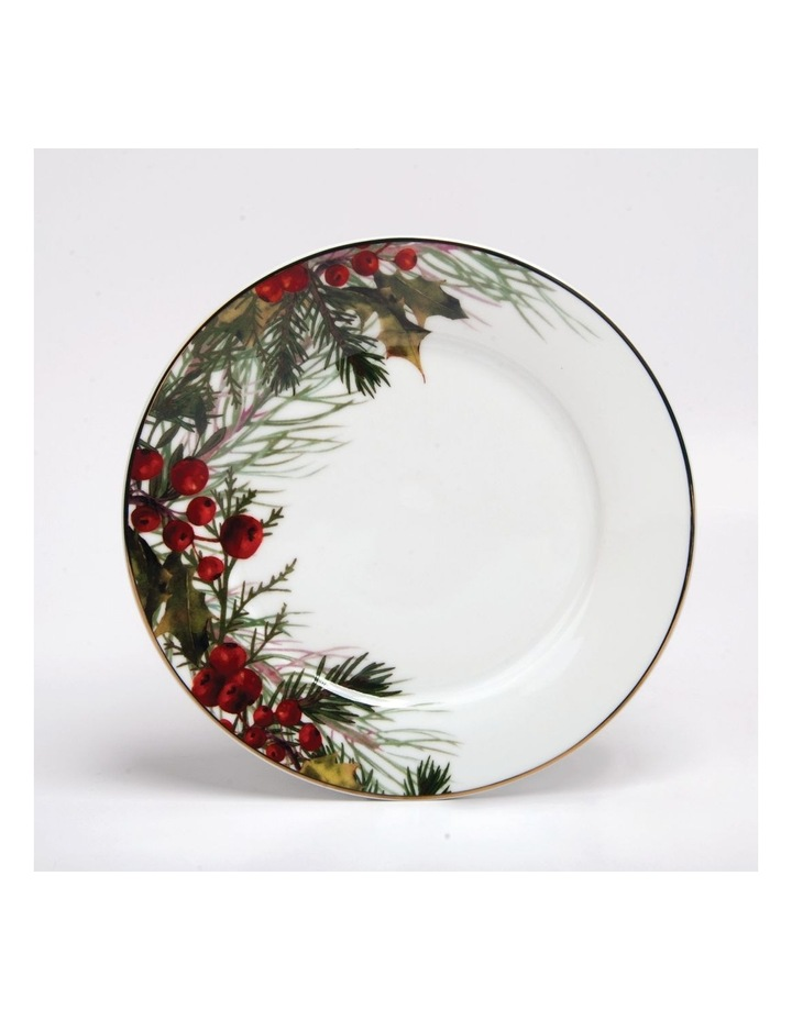 Festive Holly Side Plate Berries image 1