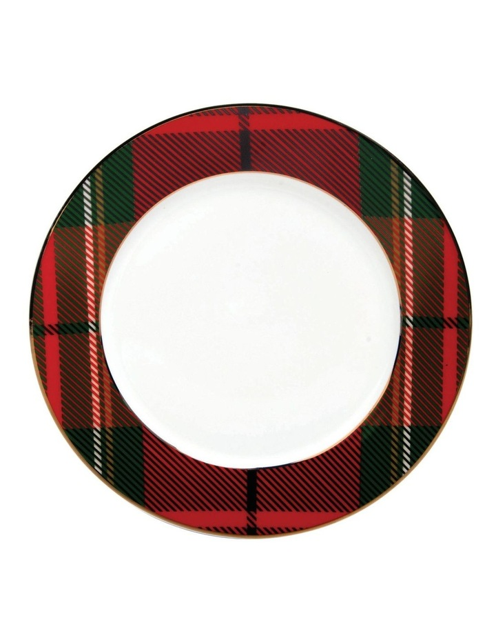 Festive Holly Side Plate Tartan image 1