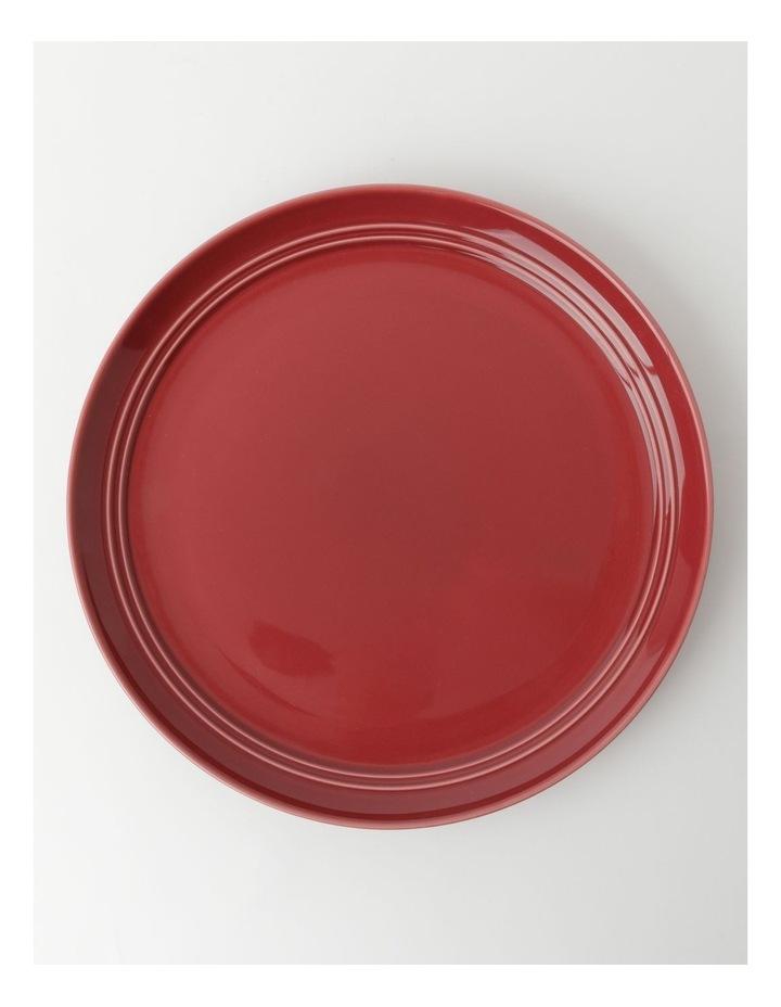 Avenue Dinner Plate in Crimson image 1