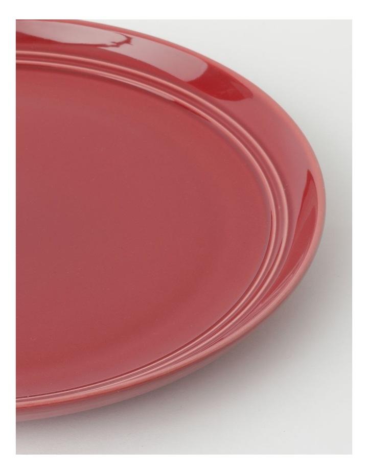 Avenue Dinner Plate in Crimson image 2