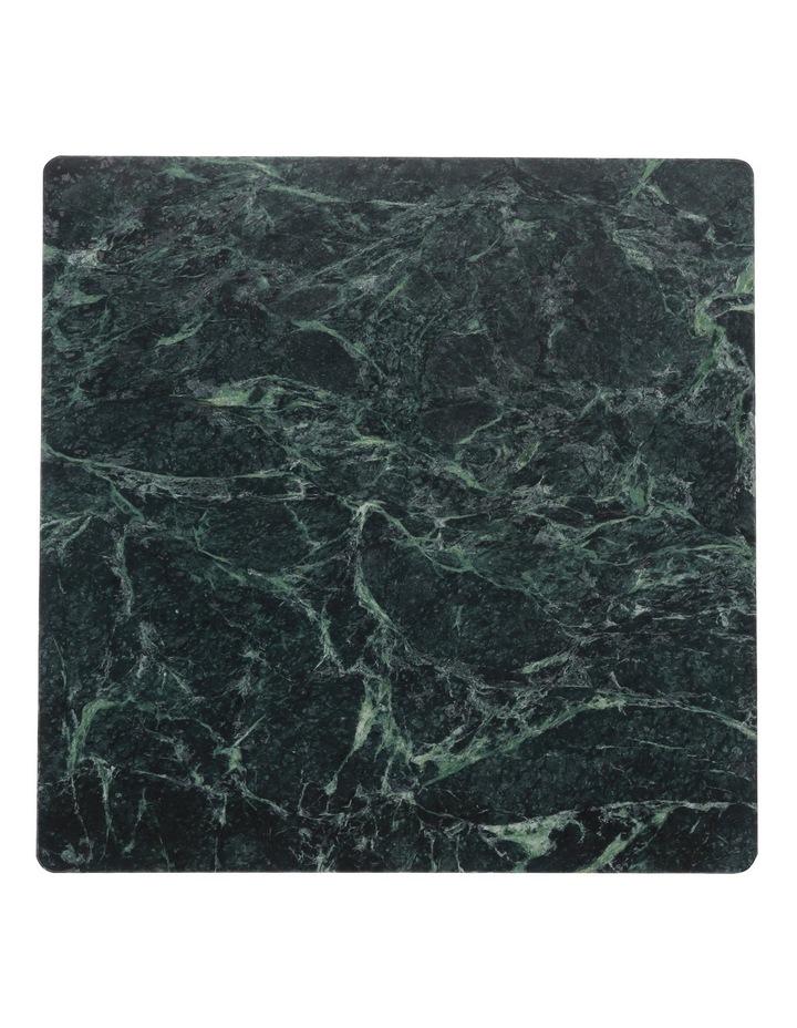 Marble Square Serve Platter - Green image 1