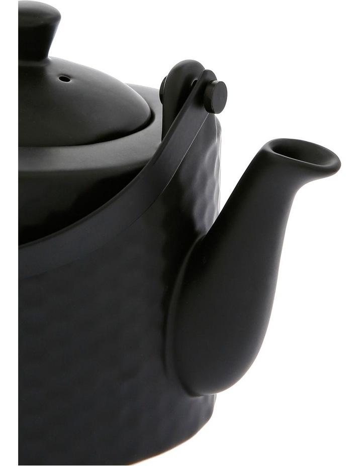 Iksan Stoneware Teapot - Matte Black image 2