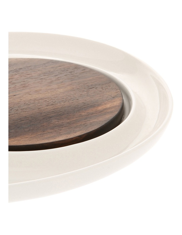 Berrilee Porcelain And Acacia 33cm Cheese Board image 2