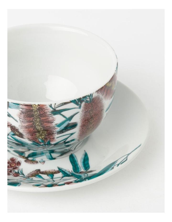 Australian Large Floral Teacup & Saucer in Multi image 2