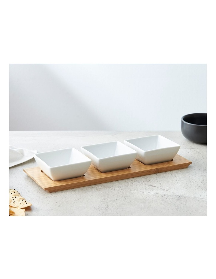 Bowl Set With Tray image 1