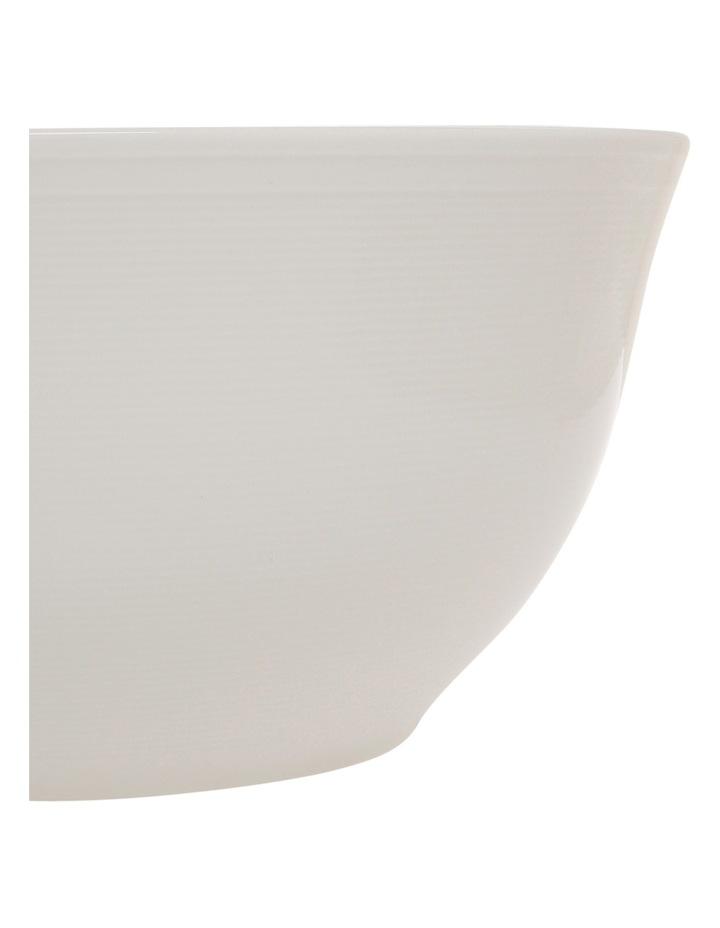 Rhythm Porcelain Serve Bowl - White image 2